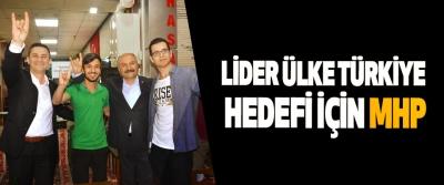 Lider Ülke Türkiye Hedefi İçin MHP