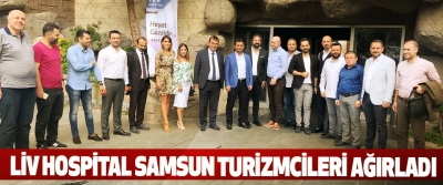 Liv Hospital Samsun Turizmcileri Ağırladı
