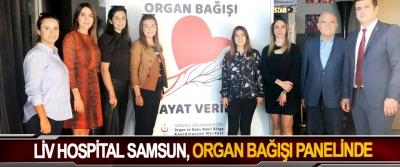 LİV Hospital Samsun, Organ Bağışı Panelinde