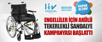 Lıv Hospıtal Samsun Engelliler İçin Akülü Tekerlekli Sandalye Kampanyası Başlattı
