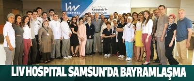 Lıv Hospıtal Samsun'da Bayramlaşma
