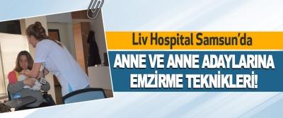 Liv Hospital Samsun'da Anne Ve Anne Adaylarına Emzirme Teknikleri!