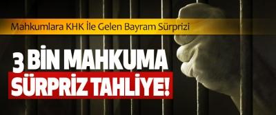 Mahkumlara KHK İle Gelen Bayram Sürprizi