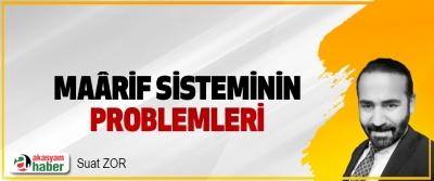 Maârif Sisteminin Problemleri