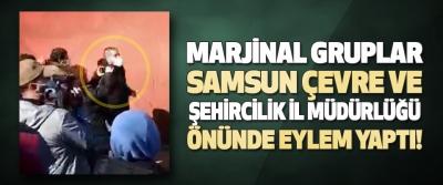 Marjinal Gruplar Samsun Çevre Ve Şehircilik İl Müdürlüğü Önünde Eylem Yaptı!