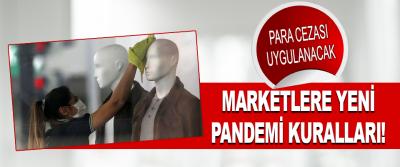 Marketlere Yeni Pandemi Kuralları!