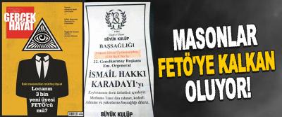 Masonlar Fetö'ye Kalkan Oluyor!