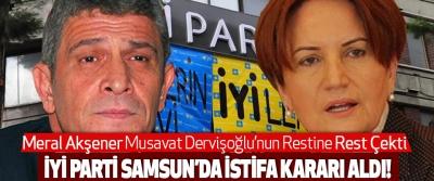 Meral Akşener İYİ Parti Samsun Teşkilatına İstifa Kararı Aldırdı!