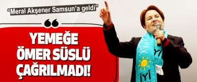 Meral Akşener Samsun'a geldi