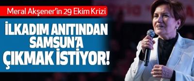 Meral Akşener'in 29 Ekim Krizi