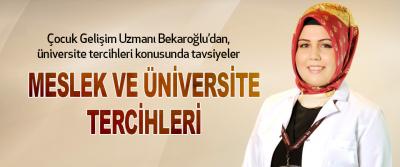 Meslek Ve Üniversite Tercihleri