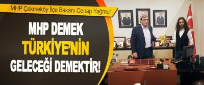 MHP Çekmeköy İlçe Bakanı Cenap Yağmur