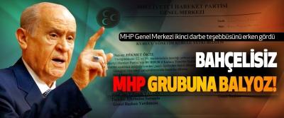 MHP Genel Merkezi ikinci darbe teşebbüsünü erken gördü