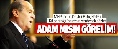 Mhp Lideri Devlet Bahçeli'den Kılıçdaroğlu'na zehir zemberek sözler