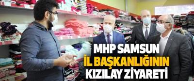 MHP Samsun İl Başkanlığının Kızılay Ziyareti
