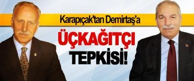 MHP Samsun İl Başkanı Abdullah Karapıçak'tan Demirtaş'a Üçkağıtçı Tepkisi!