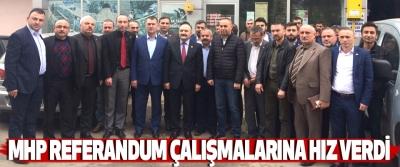 Mhp Samsun Teşkilatı Referandum Çalışmalarına Hız Verdi
