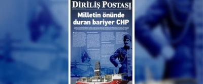 Milletin önünde duran bariyer CHP