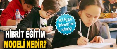Milli Eğitim Bakanlığı'nın açıkladığı Hibrit Eğitim Modeli Nedir?