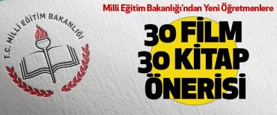 Milli Eğitim Bakanlığı'ndan Yeni Öğretmenlere 30 Film 30 Kitap Önerisi