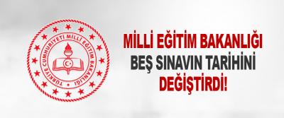 Milli Eğitim Bakanlığı Beş Sınavın Tarihini Değiştirdi!