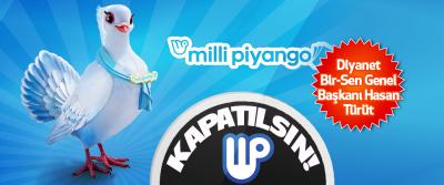 Milli Piyango Kapatılsın!