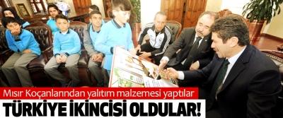 Mısır Koçanlarından yalıtım malzemesi yaptılar Türkiye ikincisi oldular!