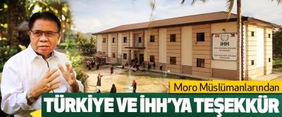 Moro Müslümanlarından Türkiye Ve İhh'ya Teşekkür