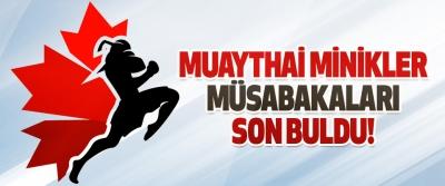 Muaythai Minikler Müsabakaları Son Buldu!