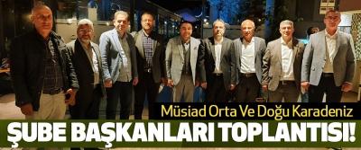 Müsiad Orta Ve Doğu Karadeniz Şube Başkanları Toplantısı!