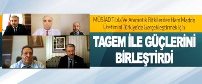 Müsiad Tıbbi Ve Aramotik Bitkilerden Ham Madde Üretimini Türkiye'de Gerçekleştirmek İçin Tagem İle Güçlerini Birleştirdi