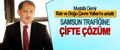 Mustafa Demir, Batı ve Doğu Çevre Yolları'nı anlattı;  Samsun trafiğine çifte çözüm!