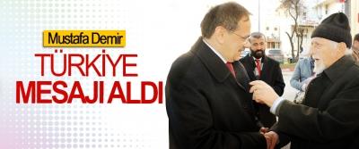 Mustafa Demir; Şehrimizi gönlümüzü ortaya koyarak birlikte imar edeceğiz