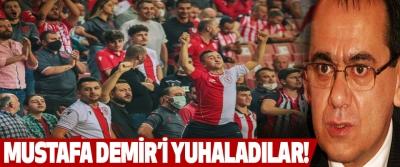Mustafa Demir'i Yuhaladılar!