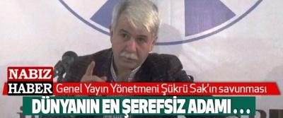 Nabız Haber Genel Yayın Yönetmeni Şükrü Sak'ın Eren Erdem savunması