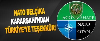 NATO Belçika Karargahı'ndan Türkiye'ye Teşekkür!