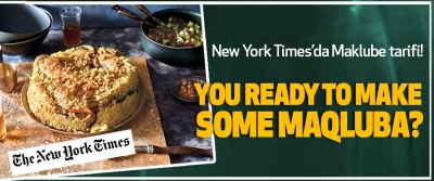 New York Times'da Maklube tarifi!