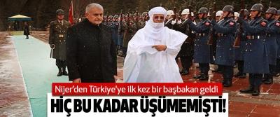 Nijer'den Türkiye'ye ilk kez bir başbakan geldi