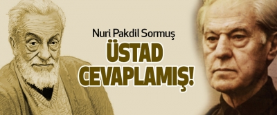 Nuri Pakdil Sormuş Üstad Cevaplamış!