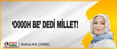 'O000h Be' Dedi Millet!