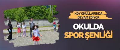 Okulda Spor Şenliği Projesi