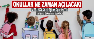 Okullar Ne Zaman Açılacak!