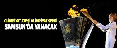 Olimpiyat Ateşi Lozan'dan Samsun'a Doğru Yola Çıkıyor..