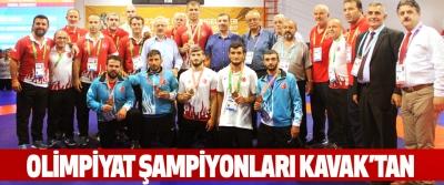 Olimpiyat Şampiyonları Kavak'tan