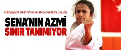 Olimpiyatta Türkiye'nin karatede madalya umudu Sena'nın Azmi Sınır Tanımıyor