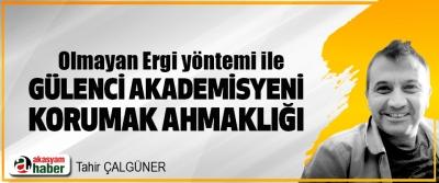Olmayan Ergi yöntemi ile Gülenci Akademisyeni Korumak Ahmaklığı