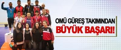 OMÜ Güreş Takımından Büyük Başarı!