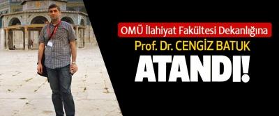 OMÜ İlahiyat Fakültesi Dekanlığına Prof. Dr. Cengiz Batuk atandı!