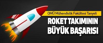 Omü Mühendislik Fakültesi Tanyeli Roket Takımının Büyük Başarısı