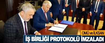 OMÜ ve İLKSAN iş birliği protokolü imzaladı